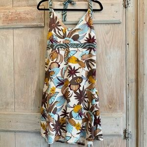 Patagonia   Floral Tropical Halter Dress
